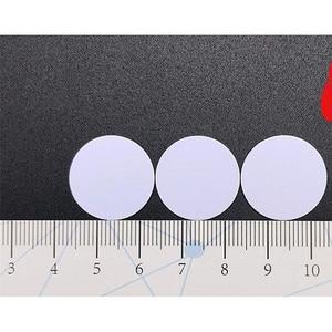 Image 5 - 10pcs Ntag215 14443A TAG Sticker Key Tags 13.56 MHZ llaveros llavero Token Patrol Universal Label RFID Tag Mini NFC Phone Tag