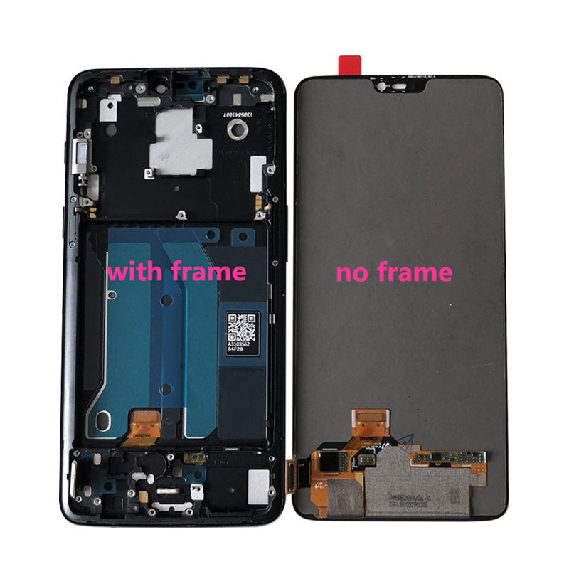 "Image 5 - Original M&Sen For 6.28"" OnePlus 6 Oneplus 6 One Plus 6 Super Amoled LCD Display Screen+Touch Panel Digitizer Frame Replacement-in Mobile Phone LCD Screens from Cellphones & Telecommunications"