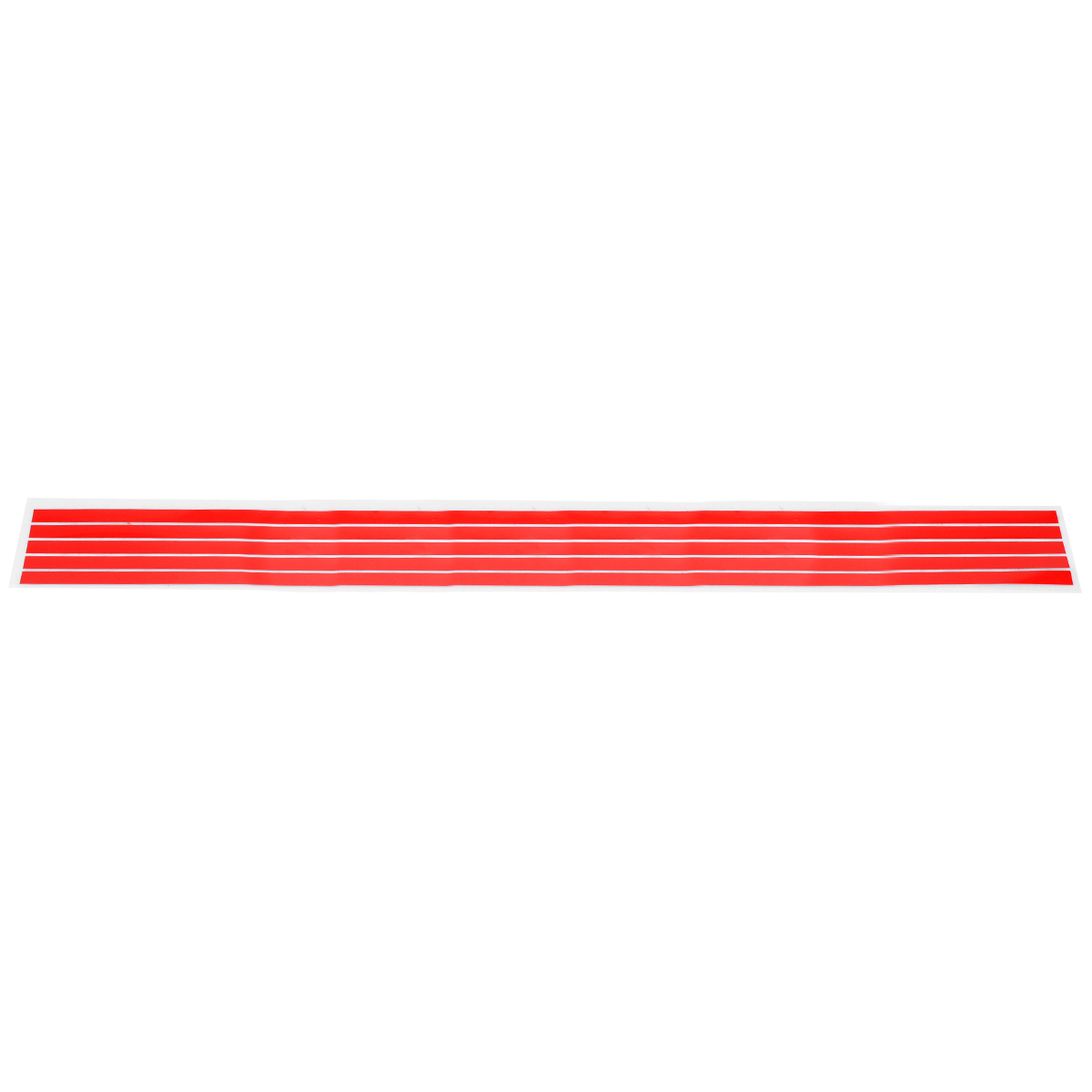 Купить с кэшбэком Mayitr New Red Front Hood Grill Grille Decal Car Sticker For V-W G-olf 6 7 T-iguan
