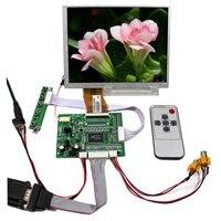 7inch TFT LCD 800x600 Resolution  VS-TY5060-V1 VGA AV LCD Controller Board A070SN01 4:3 LCD Screen