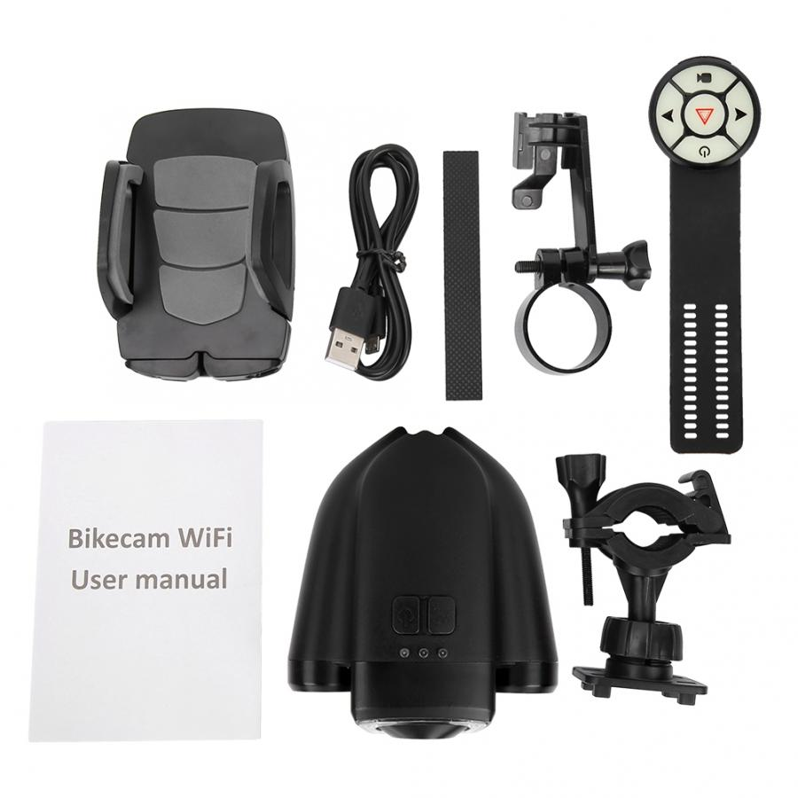 Bike Waterproof Camera Recorder Turning Warning Light Kit Bicycle Camera Recorder Safety Warning Rear Light with