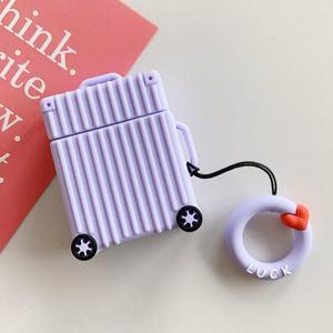 Image 4 - حار شعبية حقيبة شكل غطاء من السيليكون لأبل Airpods بلوتوث سماعة الملحقات ل Airpod سماعة الغطاء الواقي