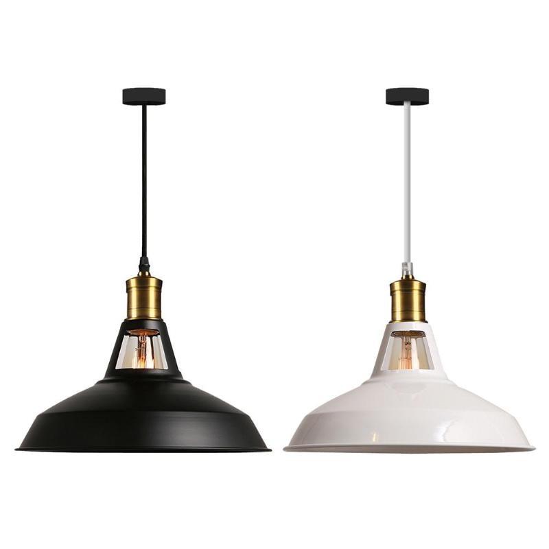 Industrial Iron Art E27 Pendant Light Lamp Kitchen Dining Hang LampshadeIndustrial Iron Art E27 Pendant Light Lamp Kitchen Dining Hang Lampshade