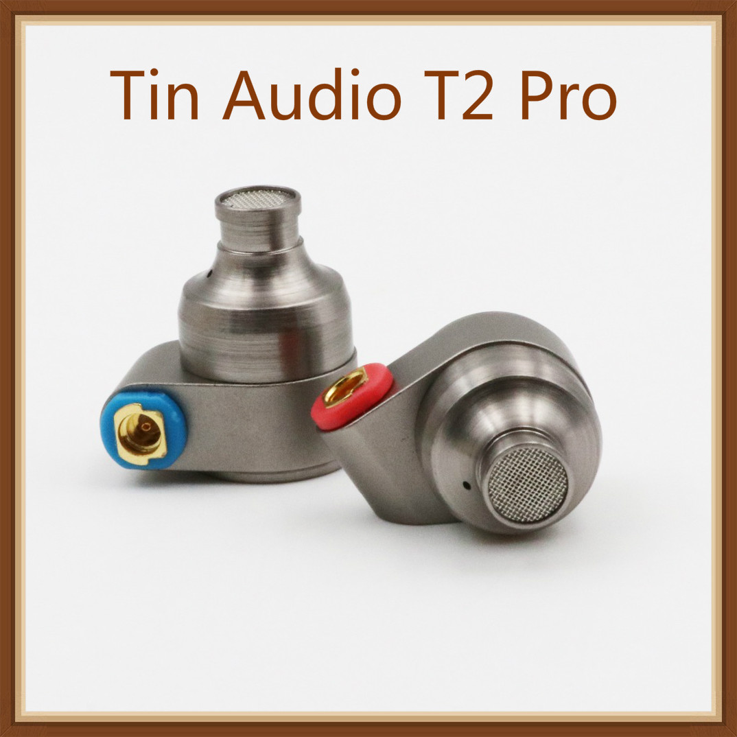 Tin Audio T2 Pro HiFi Dual Dynamic 2DD auriculares intrauditivos con Diseño de Metal, Cable MMCX desmontable, gomaespuma Eartips