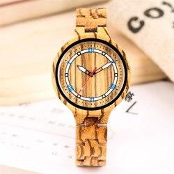 Modny drewniany zegarek Lady cyfry rzymskie wyświetlacz drewniany zegarek z bransoletą zespół kreatywnych kobiet zegarki kwarcowe zegarek zegar prezent