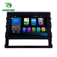 Octa Core 1024*600 Android 8.1 Car DVD GPS Navigation Player Deckless Car Stereo For Toyota LAND CRUISER 2016 17 Radio Headunit