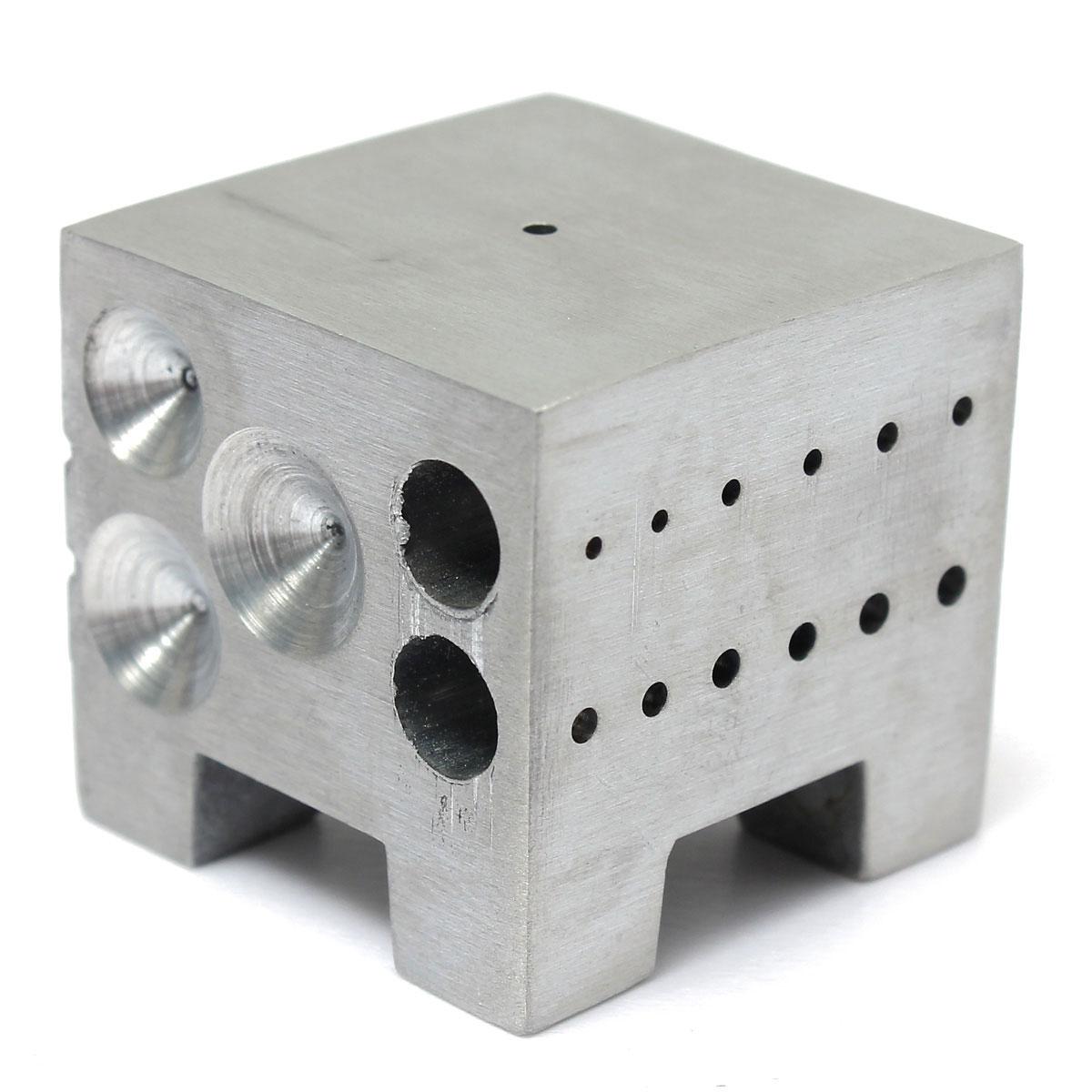 Квадратный Dapping купольный формовочный блок ювелирный ремонт держатель часы ремонт инструмент купольный инструмент часы нижнее сиденье ...