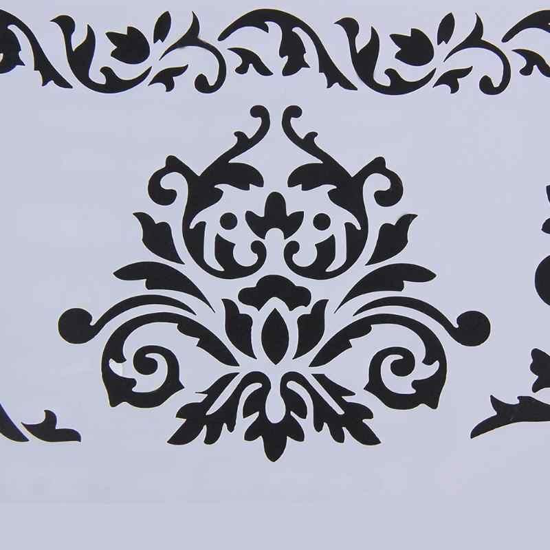 Videira flor Bolo Stencil Fondant Doce Modelo Buttercream Spray Mould DIY Decoração Biscoitos De Plástico Ferramentas Bolo Stencil
