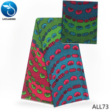 LIULANZHI audel fabric 4yards and chiffon fabrics 2yards fashion printed fabricts 6yards/lot ALL73-ALL80