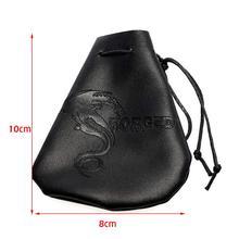 Forged Dragon PU Leather Dice Bag
