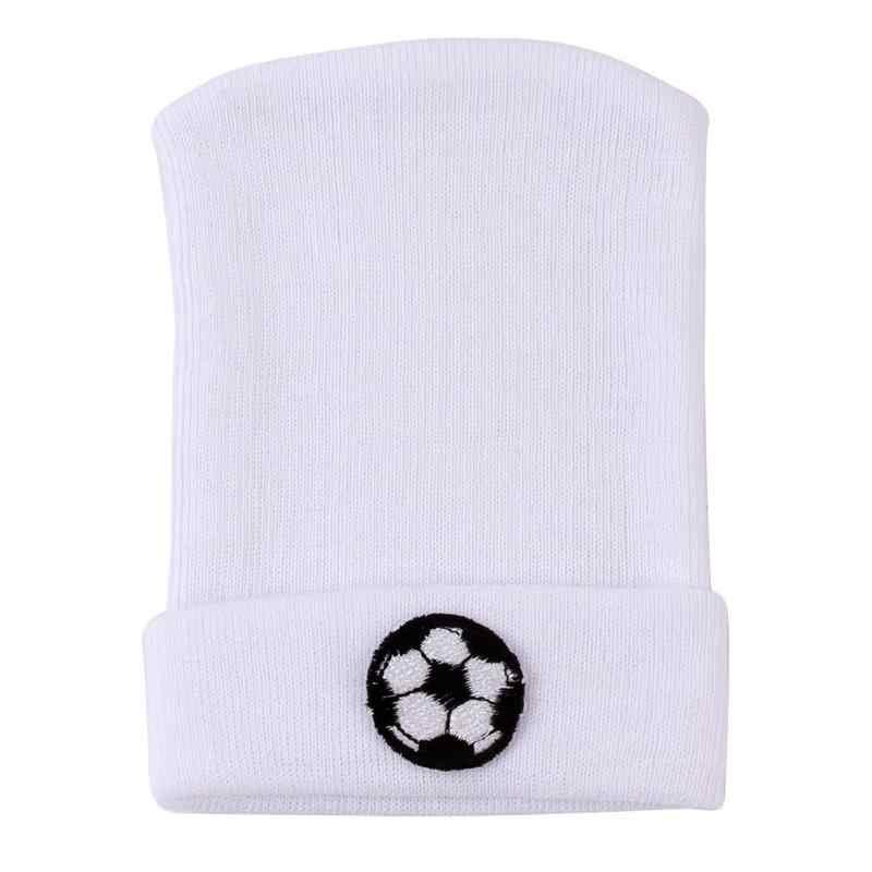 Baby Hats Newborn Printing Cotton Fashion Children Cap Toddler Infant Warm Soft Cotton Striped Bow Beanies Warm Knitted Hat