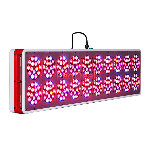 Most Powerful 630W Apollo 20 Led Grow Light Uv Ir 3w Flowering Led's  Lens Indoor Plant Greenhouse Hydroponic  Growing Lamp