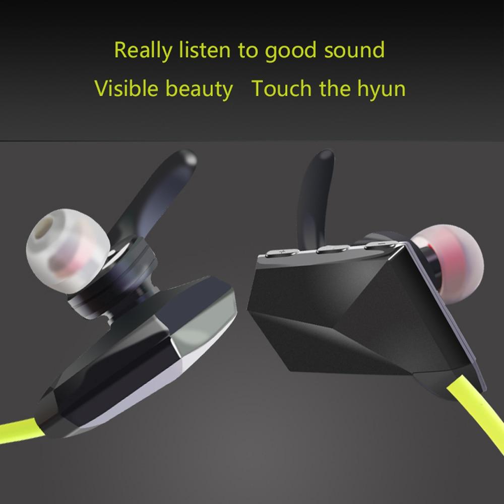 BTKDK 06 Bluetooth Earphon In-Ear Sport Earphone Light Weight Microphone Voice Control Music Sport Earpiece For Smart Phone