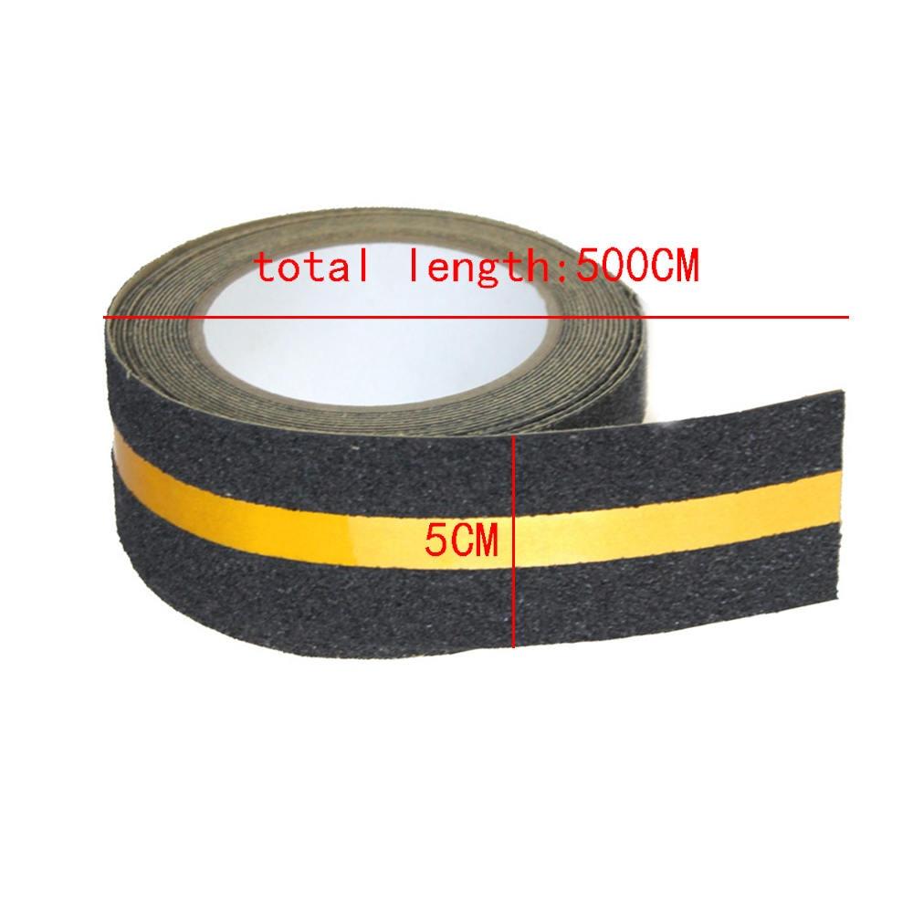 5M Safe Tread Non Skid Anti Slip Tape Adhesive Stickers Strip For Stairs Floor Stair Step Wear-resistant Anti-slip Strip