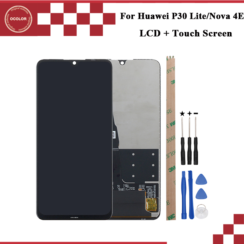 ocolor For Huawei P30 Lite LCD Display And Touch Screen Assembly 6 15 For Huawei Nova