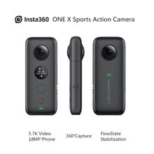 Insta360 ONE X Спортивная Экшн-камера 5,7 K Video VR 360 для iPhone и Android youtube camera Action cam live streaming video(China)