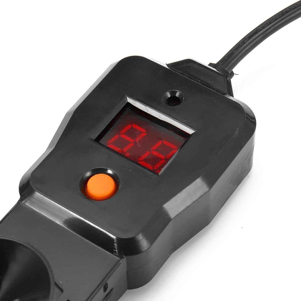 300/500 w aquário submersível aquecedor tanque de peixes led digital ajustável aquecedor de água haste aquatic pet gaiola casa suprimentos preto