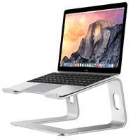DSstyles Laptop Riser Stand Universal Detachable Portable Aluminum Alloy Notebook PC Desk Holder