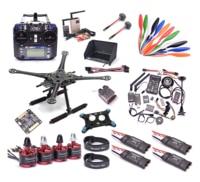 S500 500mm / F450 450MM Quadcopter Kit PIXHAWK 2.4.8 2212 920KV Motor 40A ESC RC832 TS832 7 inch Monitor Flysky I6 1045 Prop
