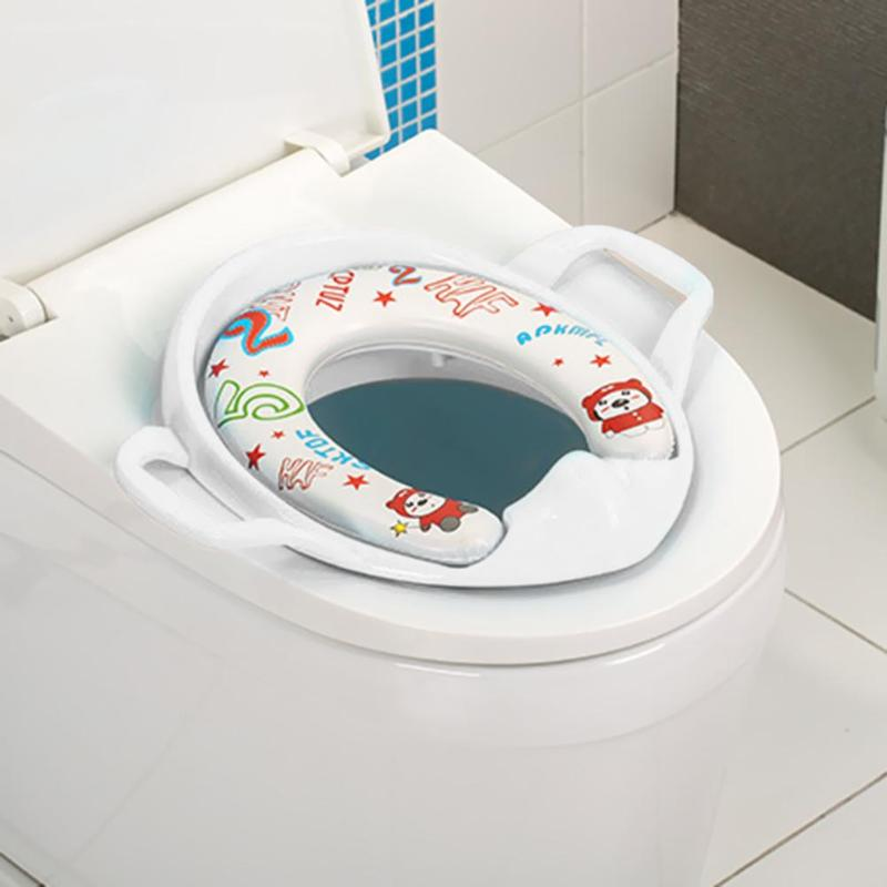 Multifunctional Baby Travel Potty Seat Portable Toilet Seat Kids Safety Cushion Infant Care Training Stool With Armrest For Kids
