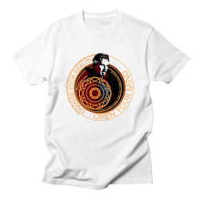 5a870ff78b5 Doctor extraño Benedict Cumberbatch hombres Unisex camisetas clásicas  películas Dr Strange superhéroes Marvel camisetas(China