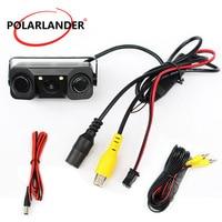 2 In 1 Car Rear View Camera Car Camera Parking with 2 Sensore for Parking Camera Backup Radar System