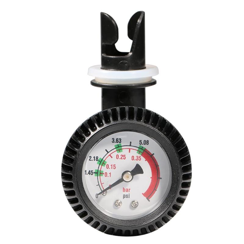 5 PSI датчик давления воздуха Термометр разъем для надувной лодки каяк плот серфинг, 95x60x60mm