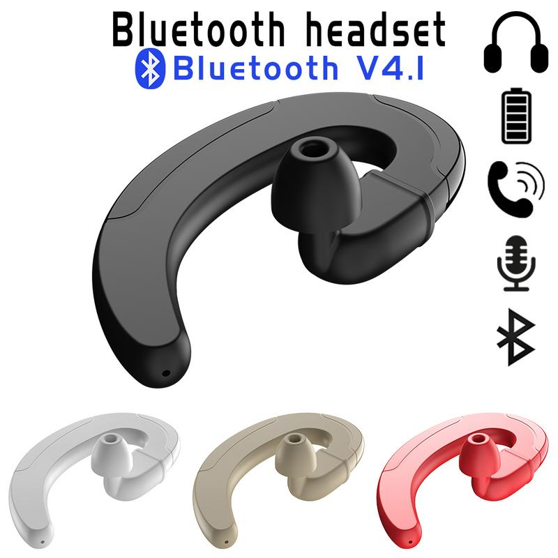 Image 5 - Bone Conduction Earhook Earphones Wireless Bluertooth Portable Mini Earbud Sports Driving Stereo Hd Sounds Surrounding Device-in Bluetooth Earphones & Headphones from Consumer Electronics