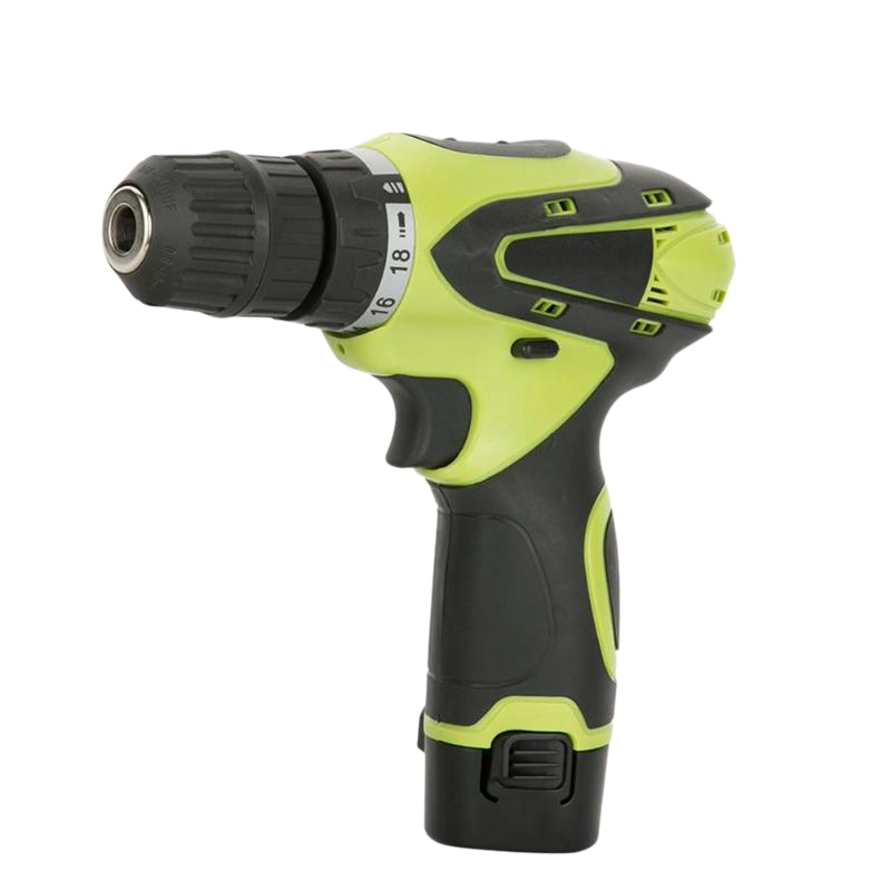 THGS 12V Electric Screwdriver Lithium Battery Rechargeable Multi-Function Cordless Electric Drill Power Tools Eu Plug