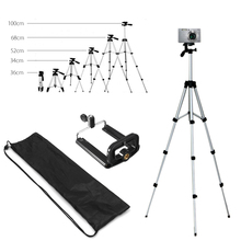 Extendable 36 100cm Universal Adjustable Tripod Stand Mount Holder Clip Camera font b Phone b font