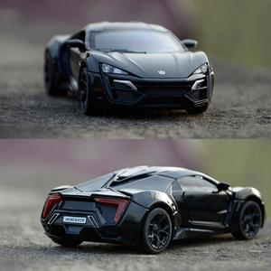 1:32 Lykan Hypersport Alloy Diecast Model Cars Sound & Ligh Pull Back Car Toys Gifts Children Birthday Gift