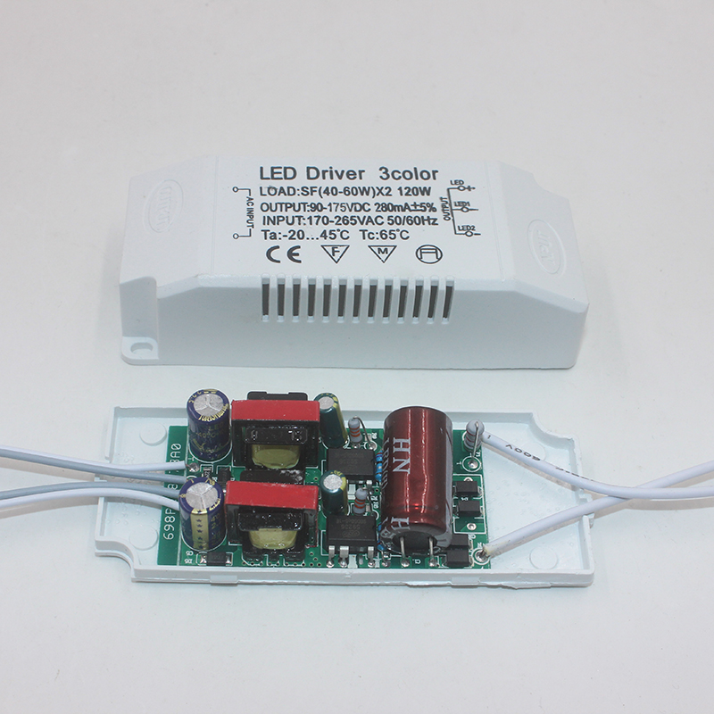 Image 5 - 8 120W LED Driver Power Supply Adapter Input AC 220V Non Isolating Lighting Transformer Constant Current 220 300mA-in Lighting Transformers from Lights & Lighting