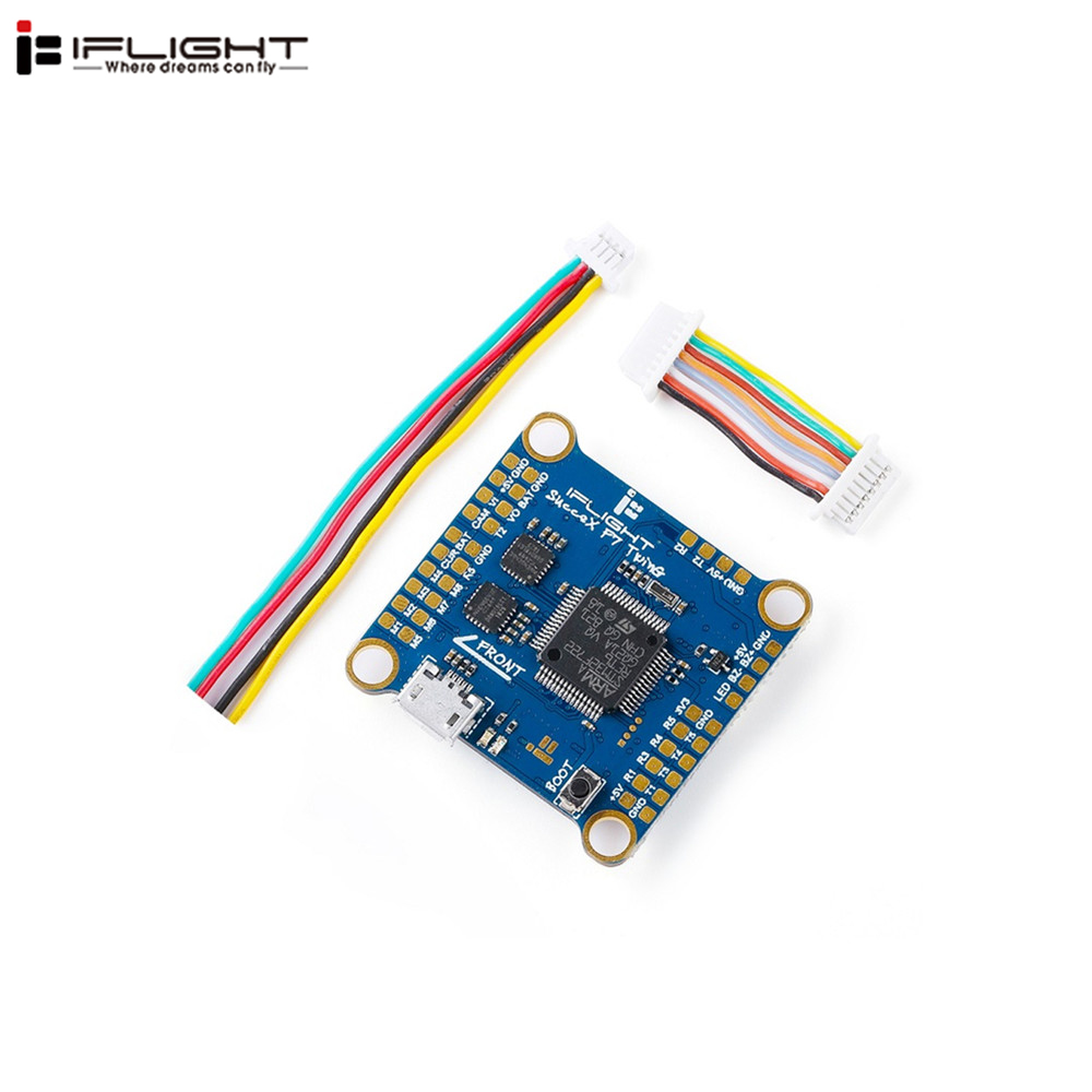 iFlight SucceX F7 TwinG STM32F722RET6 Gyro Flight Controller W OSD Dual ICM20689 for RC Models Spare
