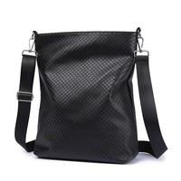 Crossbody Diaper Bag for Baby Care Black Plaid Large Capacity Messenger Bag Nappy Changing Stylish Diaper Bag Stroller Bag