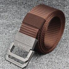 Unisex Polyester Webbing Waist  outdoor Waistband Canvas Belt 3cm colorful webbing waist belt fashion unisex plain webbing waist belt waistband casual canvas belt