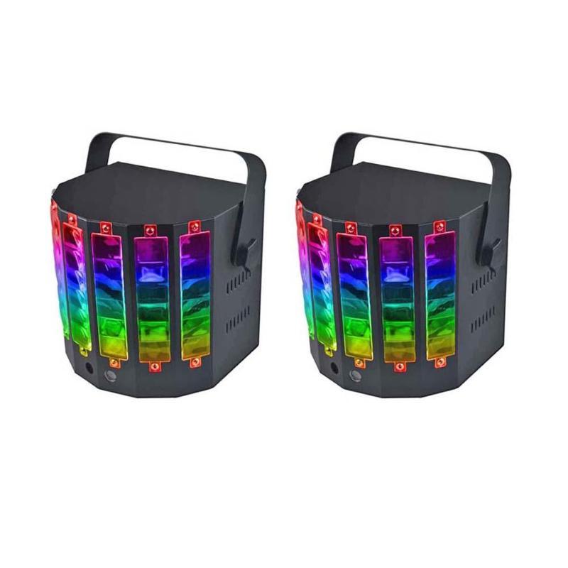 18 W 9 couleurs LED lampe de musique DJ Disco scène Laser lumière maison KTV fête Bar hôtel effet d'éclairage