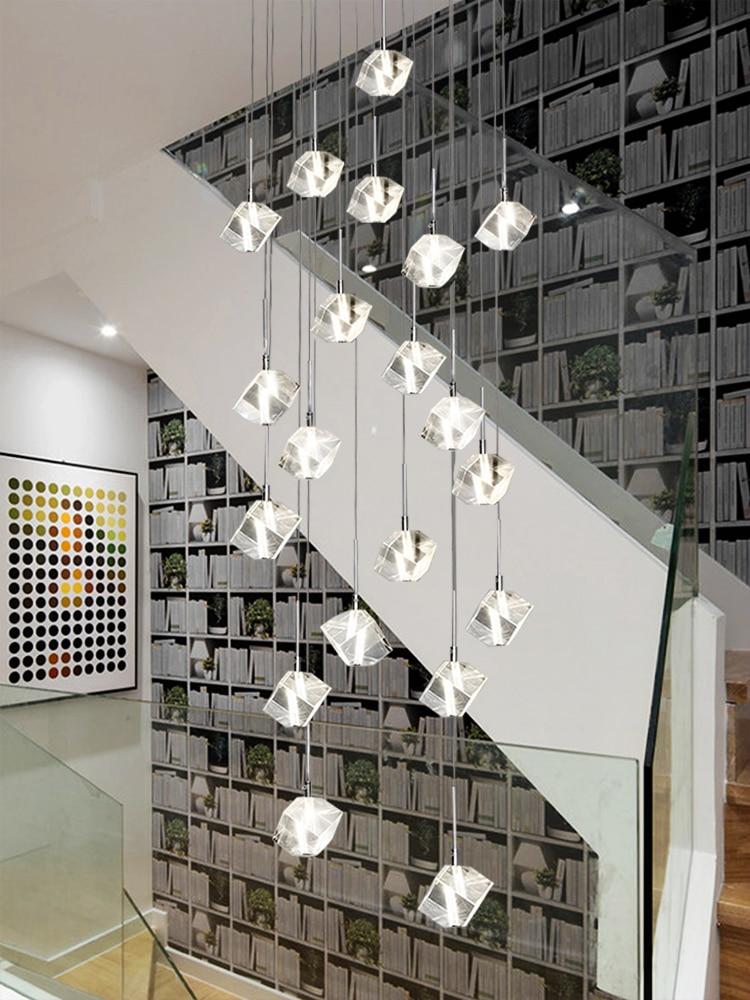 10 Best Of Modern Stairwell Pendant Lighting: Aliexpress.com : Buy Modern G4 Led Pendant Light For Hotel
