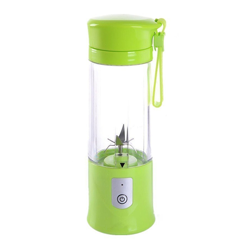 4000mah Portable Size USB Electric Fruit Juicer Handheld Smoothie Maker Blender Rechargeable Mini Portable Juice Cup Water