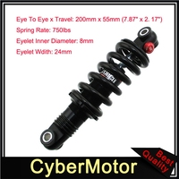 200 x 55mm DNM DV22AR Coil Spring Rear Shock For Mountain Bike Bicycle