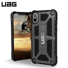 Защитный чехол UAG Monarch для iPhone X graphite/IPHX-M-GR/32