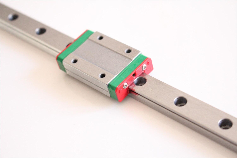3D Parti Della Stampante CNC Mini MGN Lineari della Guida Guida MGN9H MGN12H L 250 300 350 400 450 500 MILLIMETRI CZ trasporto libero
