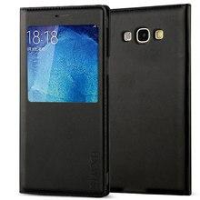 Hard Flip Cover Leather Wallet Phone Case For Samsung Galaxy A5 2015 GalaxyA5 A 5 SM A500  SM-A500F SamsungA5 A5Case 360
