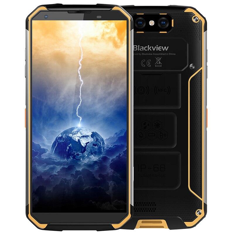 Blackview a BV9500 4G 5,7 pulgadas Android 8,1 MT6763T Octa Core 2,5 GHz 4 GB 64 GB 16.0MP trasera Doble cámaras de carga inalámbrico de 10000 Mah