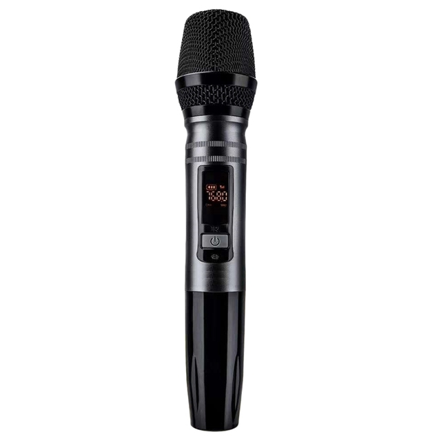 Marke Neue 1Pcs Ux2 Uhf Auto Auto Drahtlose Dynamische Mikrofon System Mit Empfänger Für Verstärker Mixer Lautsprecher Desktop Bus Audio
