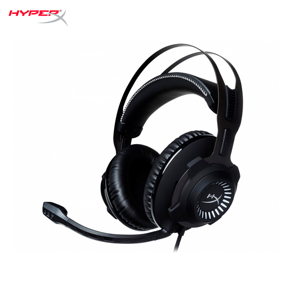 Earphones & Headphones HyperX Revolver Gun Metal HX-HSCR-GM computer wired headset gaming CS:GO esports original xiberia v10 usb gaming headphones vibration led stereo around gaming headset headphone with microphone mic for pc gamer
