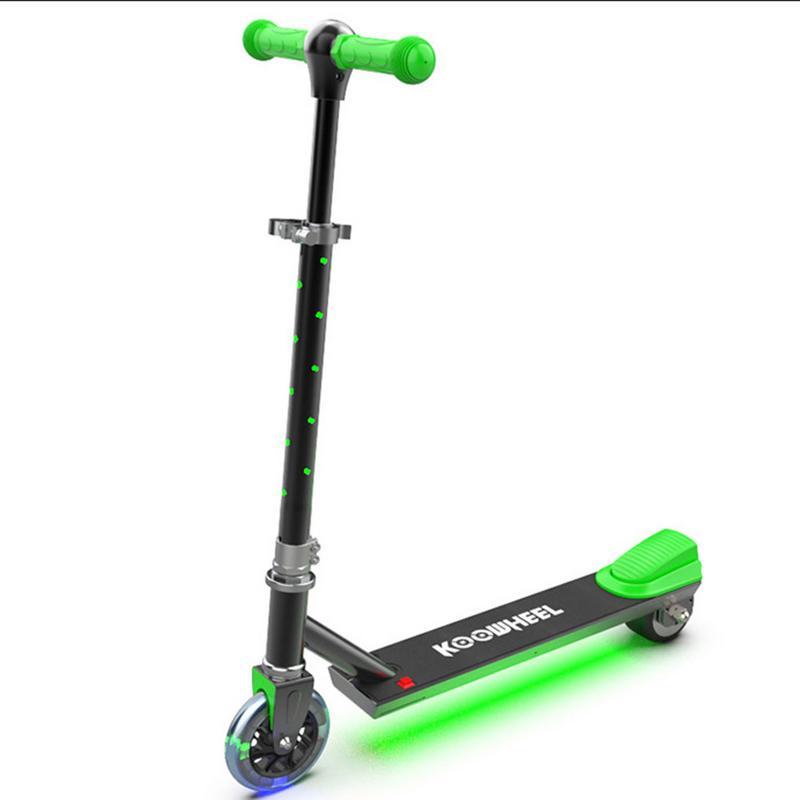 Nouveau Scooter Électrique pour Enfant Assistance Électrique Puissance De Levage à Deux Roues Scooter Enfants Cadeau