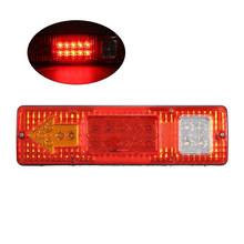 Durable Car Trailer Rear Tail Light Waterproof LED Lamp Turning Signal Stop Indicator 24V (Red)(China)