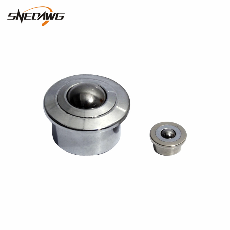 10pcs CY-15H 5//8-inch Bearing Steel Roller Ball Flange Conveyor Transfer Unit