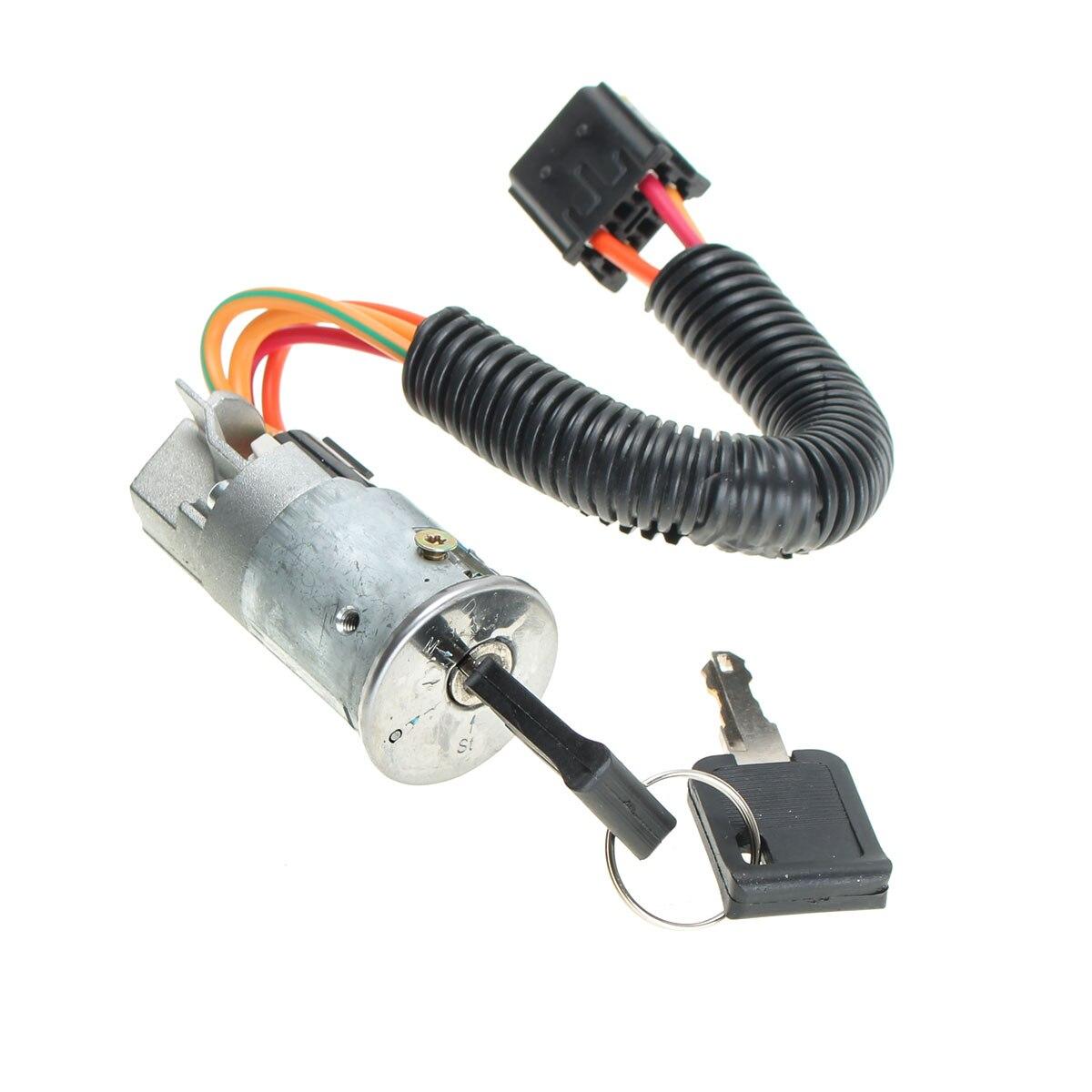 Новый корпус замка зажигания + 2 ключа для RENAULT /CLIO /MK2 /MEGANE /SCENIC 1998-2005