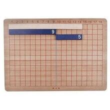 Деревянный Монтессори математика обучающий материал сложение